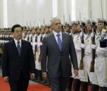 Serbia-China- Hudjintao Tadic