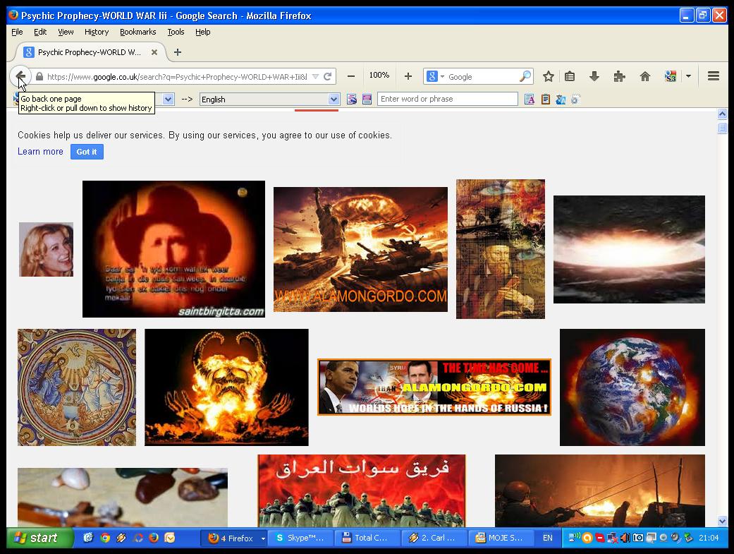 World-war III Prophecy Psychic Medium Ljubica Zec